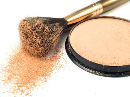 face powder: Face Powder Stock Photo