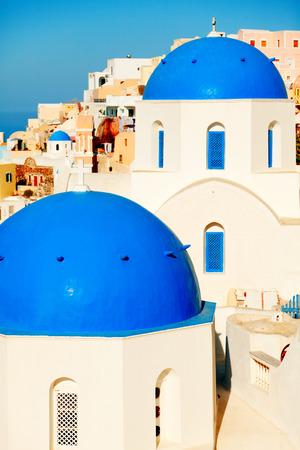 oia: Oia, Santorini at daylight