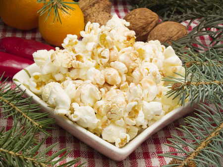 palomitas de maiz: Tradicional Comida de Navidad