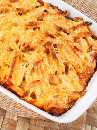 baked: Baked macaroni and cheese
