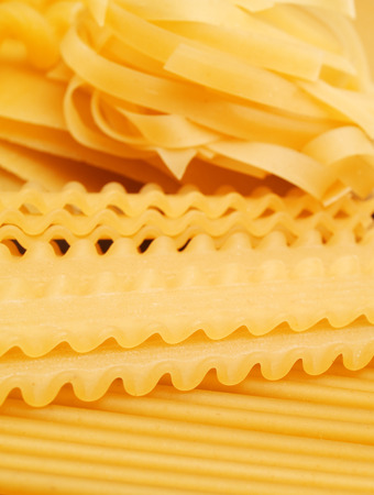 full frames: Raw pasta