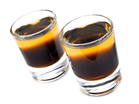 liqueurs: Ingredients:   1 part Kahlua,  1 part Scotch