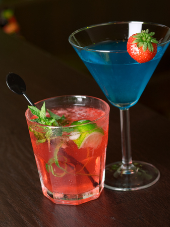 martini shaker: Cocktails Collection - Mai Tai and Russian Night