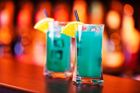 liqueurs: Cocktails Collection - Deep Blue Sea