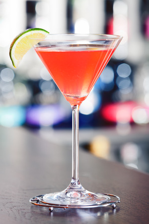 Cocktails collection - Cosmopolitan Stock Photo