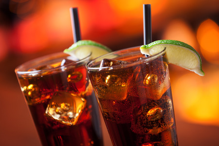 Long Island Iced Tea Stock Photo