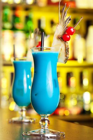 blue hawaiian drink: Cocktails Collection - Blue Hawaiian