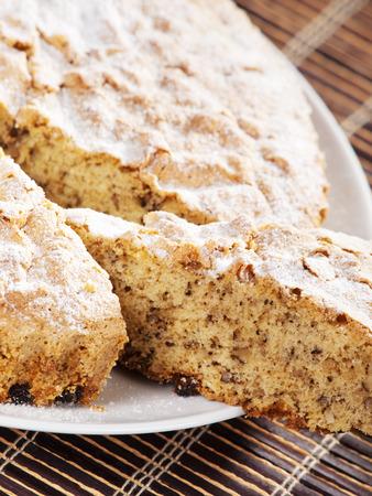 vanilla cake: Vanilla cake, home made