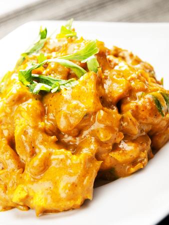 indian meal: Chicken tikka masala - indian meal