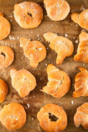 pretzels: Homemade pretzels