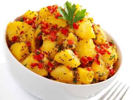 potatos: Potatos with sesame and cilantro