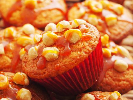 avellanas: Cupcakes with hazelnuts