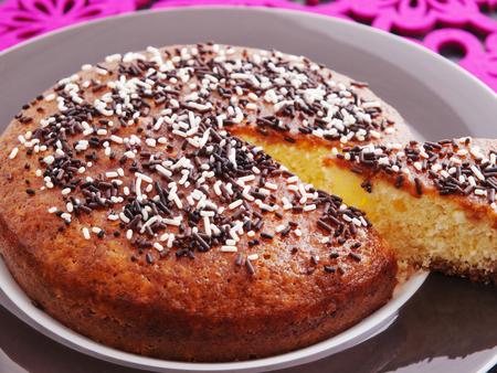 homemade cake: Homemade cake