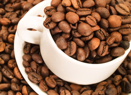 full frames: Coffee beans