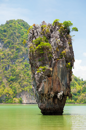 andaman sea: Khao Phing Kan is a pair of islands on the west coast of Thailand, in the Phang Nga Bay, Andaman Sea, near Phuket Stock Photo