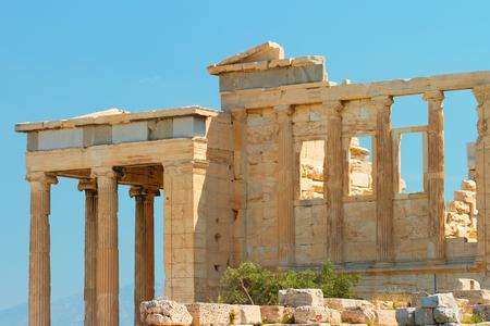 doric: The Doric temple Parthenon at Acropolis hill. Athens, Greece.