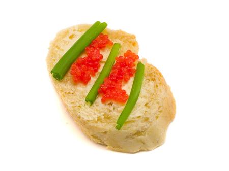 caviar: Sandwich with Caviar