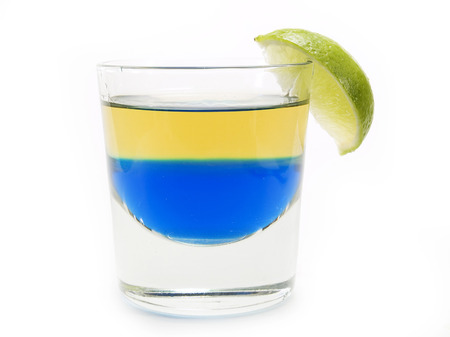 fruit of the spirit: Blue tequila is amazing shot made of blue curacao topped with tequila