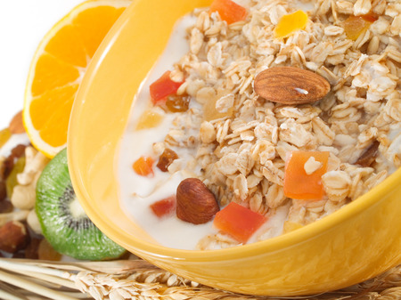 cereal plant: Cereal Breakfast Stock Photo