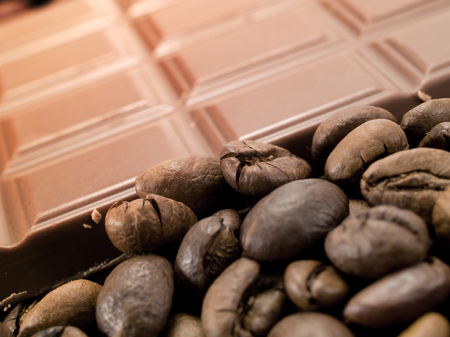 clr: Chocolate and coffee Stock Photo