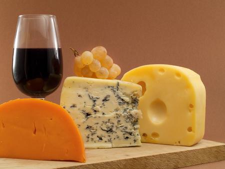 image created 21st century: Cheese still life