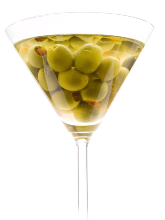 sweet vermouth: The classical, dry martini should be made with dry vermouth and be garnished with green olives.