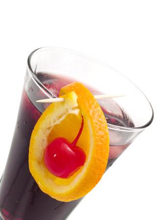 bacardi: Ingredients: 2 oz Bacardi 12 oz Triple Sec 3-4 oz Black Currant Juice