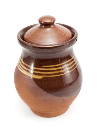 honey pot: Honey pot Stock Photo