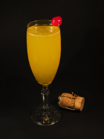 bellini: A Bellini is a simple cocktail that originated in Italy. As many other cocktails, this one was invented in Harrys Bar in Venice as well. In 1948 Giuseppi Cipriani created the Bellini which was reportedly inspired by the 15th-century Venetian painter Giov