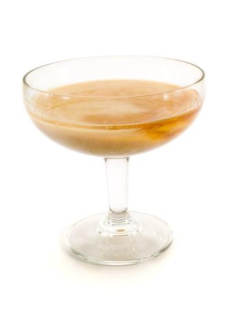 amaretto: Ingredients:  1 part irish cream (baileys) 1 part amaretto Stock Photo