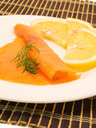 salmon ahumado: Salmón Ahumado