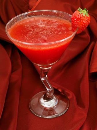 oz: Ingredients of Strawberry Daiquiri:  12 oz strawberry schnapps 1 oz light rum 1 oz lime juice 1 tsp powdered sugar 1 oz strawberries