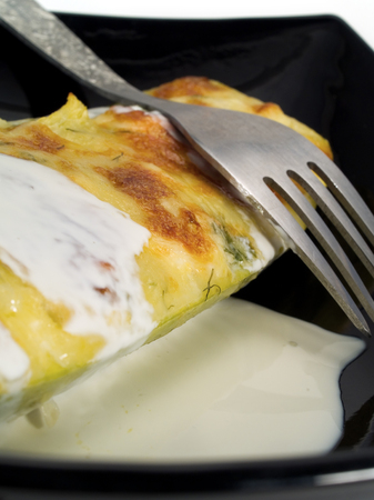 stuffed: Stuffed Zucchini with Cheese