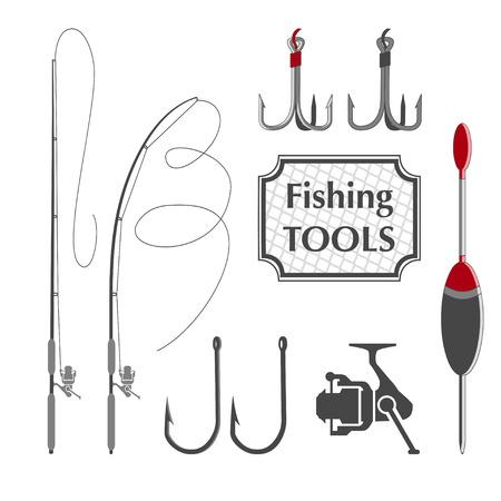 fish rod: Fishing tools