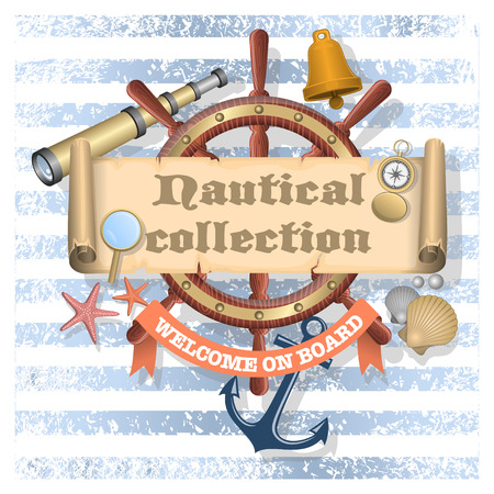 scroll wheel: Nautical collection 2