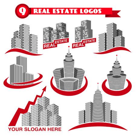 estates: Logotipos de bienes ra�ces