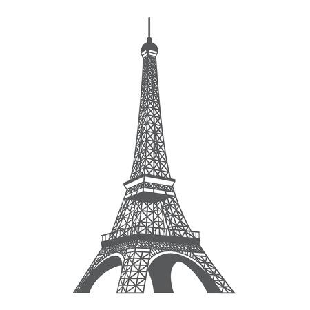 Illustration der Eiffel-Turm