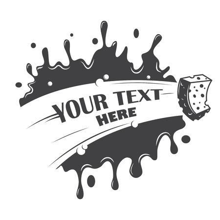 festékek: töröld tisztító szivacsot és helyét a szöveg