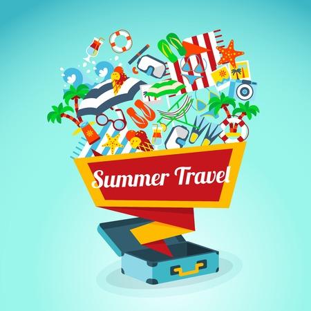 photo album: Summer Travel Template