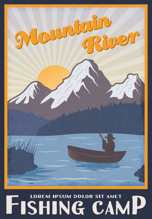 Fishing Camp Poster