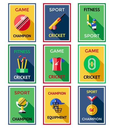 Colored Cricket Flyers