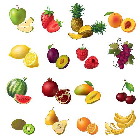 Gemütlich Farbiges Bild Von Früchten Galerie - Ideen färben ...