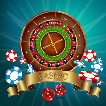 wheel of fortune: Casino background
