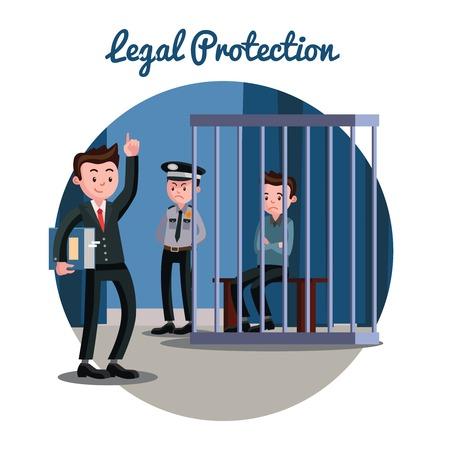 judicial: Law Judicial System Template