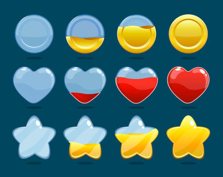 Game Rating Icons Set