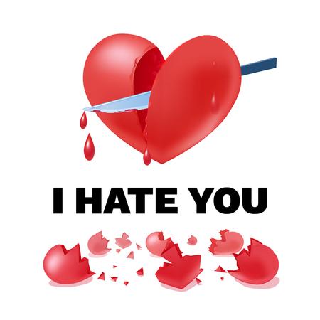 Unhappy Love Light Template Çizim