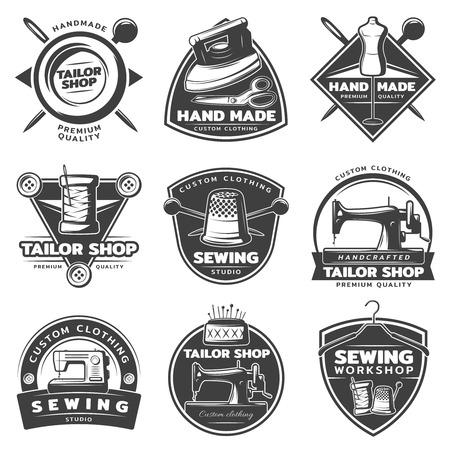 Monochrome Tailor Labels Collection