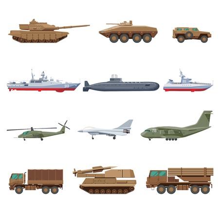 Military Vehicles Set