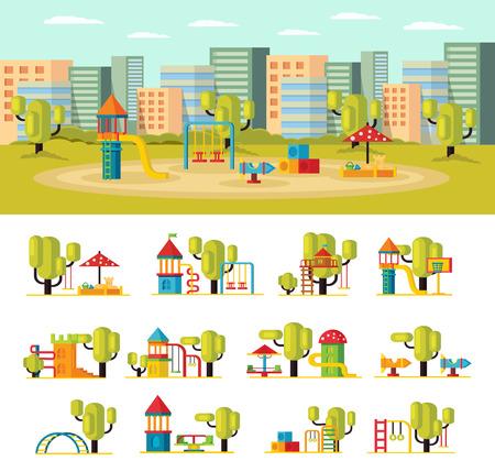 Summer Playground Concept