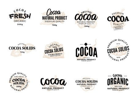 Cocoa Logo Set